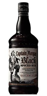 Captain Morgan Rum Black Cask Spiced Rum 100@ 1.00l